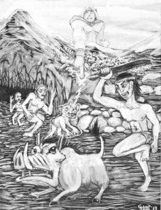 119 El origen de los jabalíes (2)