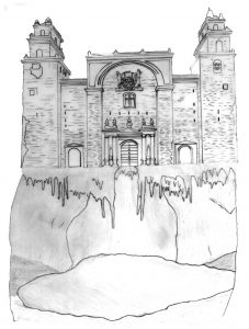 22 El cenote de la Catedral de