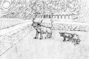 32 Waantul, el toro gigante