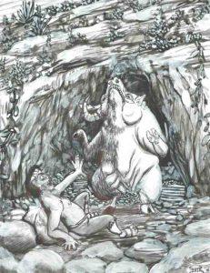 41 El chivo de la gruta