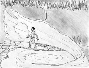 45 El cenote de Xkalotsayab