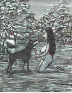 57 El perro de caza