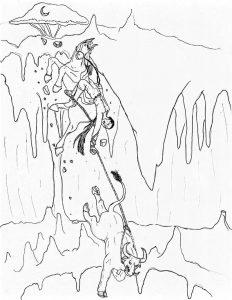 61 Waantul y la Cueva Chuyenbalam