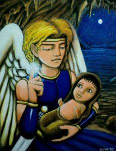 82 El nacimiento de Abraham