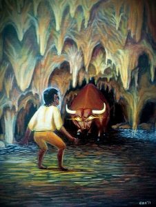 111 El toro de la gruta Olinchem