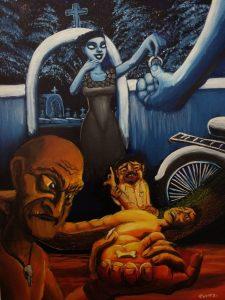 124 La mujer del cementario. Segunda versión
