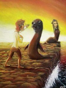 97 Hombre que se casó con una foca