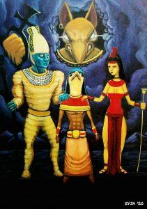 98 Osiris, Isis, Horus y Seth