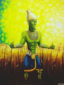 99 Osiris, dios del cereal